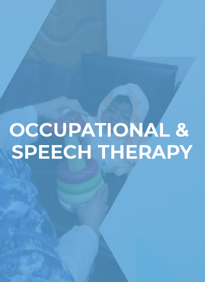 Occupational & Speech Therapy Cover
